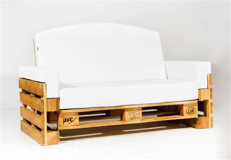 Sofa de Palet Reclinable 120