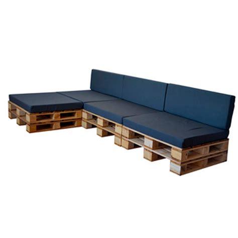 Sofá de Palets Chaise Longue para terrazas | DECOPALE.COM