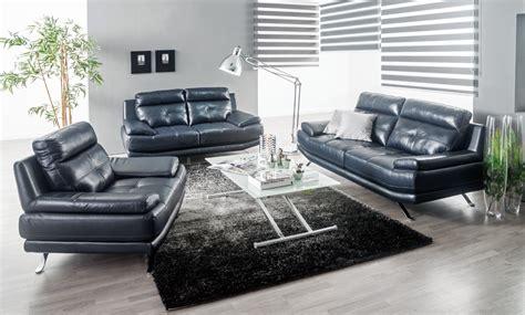 Sofá de piel 3 plazas HAWAI hawai sofa3p   Conforama
