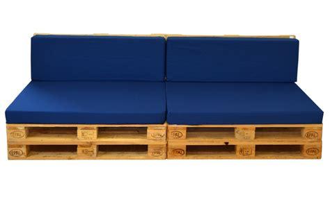 Sofá para Terrazas hecho con Palets 80x240 cm