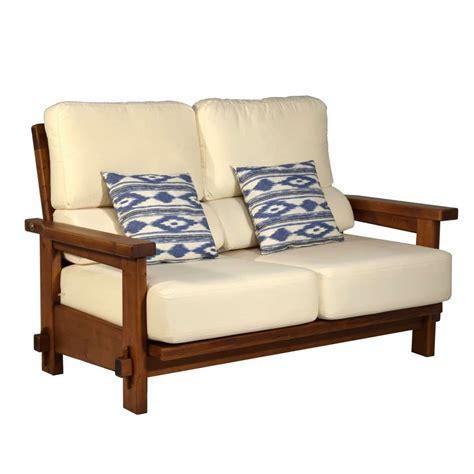 Sofá rústico dos plazas 148. Ecorústico: venta de muebles