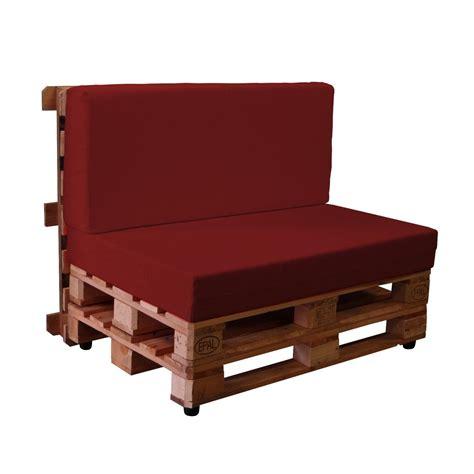 Sofas con palets con fundas de loneta KALLE. Muebles ...