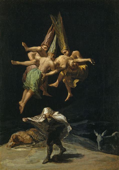 Sorcellerie chez Goya — Wikipédia