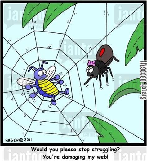 spider webs cartoons   Humor from Jantoo Cartoons