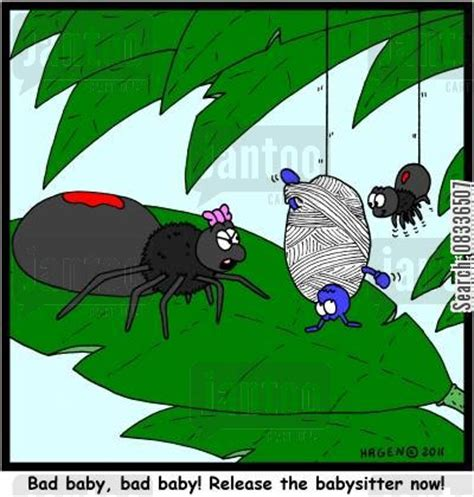 spiders webs cartoons   Humor from Jantoo Cartoons