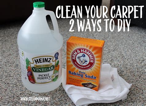 Spring Cleaning : Carpet Cleaning  2 Ways to DIY    Clean Mama