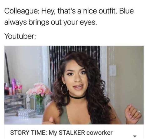 Stalker Coworker | YouTube  Storytime  Clickbait Parodies ...