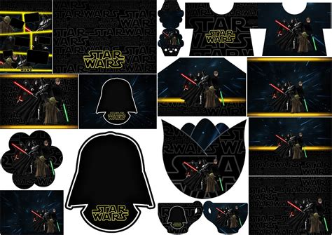 Star Wars: Invitaciones para Imprimir Gratis.   Oh My ...