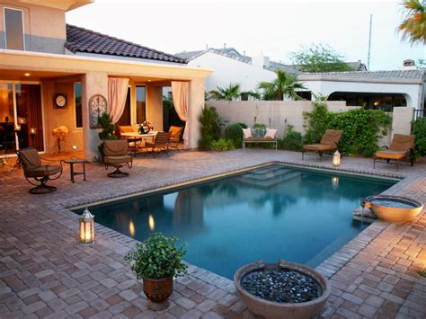 Stone backyard patio, hgtv patio designs with pool small ...