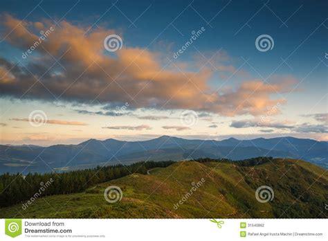Sunset Landscape Stock Photography   Image: 31540862
