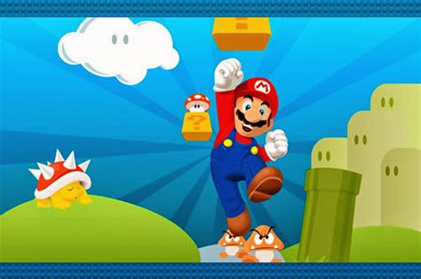 Super Mario Bros Free Party Printables and Invitations ...