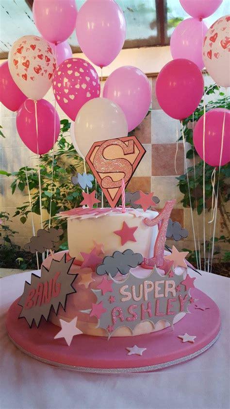 Supergirl, linda fiesta para super niñas   Dale Detalles
