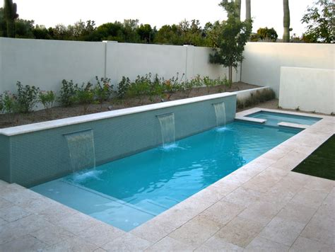 Swimming Pools in Small Spaces : Alpentile Glass Tile ...