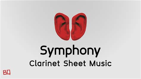 Symphony   Clean Bandit ft. Zara Larsson  Clarinet Sheet ...