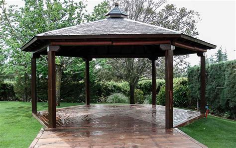 Tarima Exterior Madrid | Pergolas Madera Madrid | Porches ...