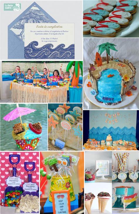 Tarjetas de invitación para cumpleaños en la playa   Imagui