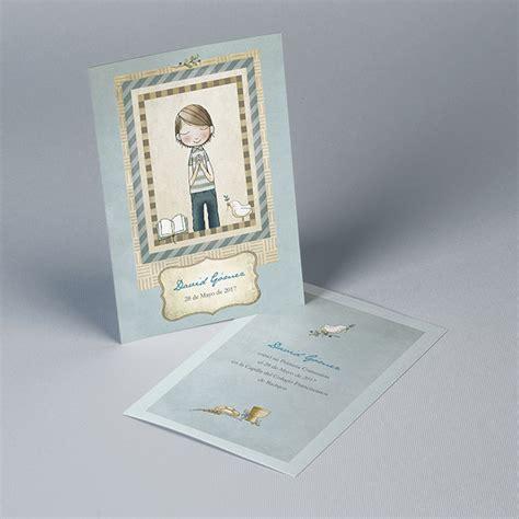 Tarjetones de Recordatorio Primera Comunión niño 51700158