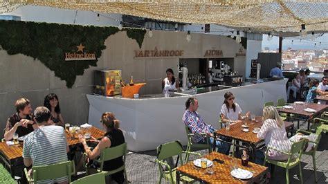 Tartan Roof: el restaurante de la azotea del Círculo de ...