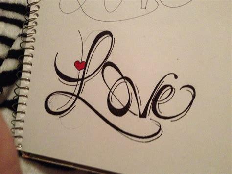 Tattoo drawing of  LOVE  | Love | Pinterest | Tattoo ...