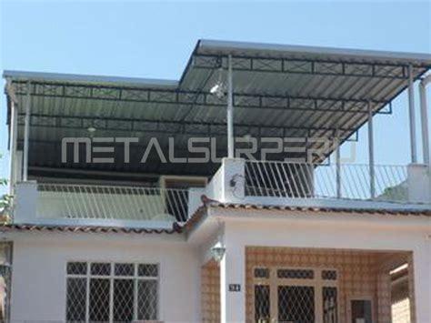 techos de terrazas ~ metalsur peru