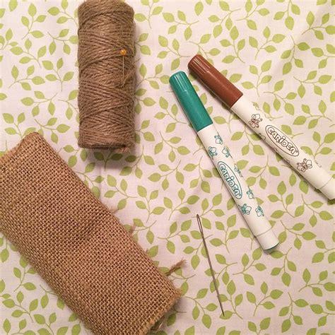 tela arpillera con lana | facilisimo.com