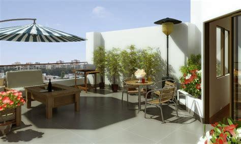 Tendencias terrazas modernas con muebles originales