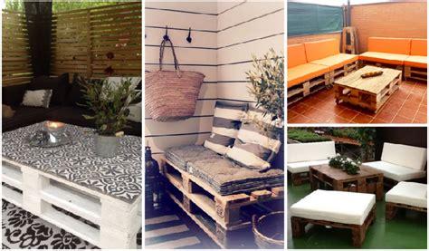 terraza con palets | facilisimo.com