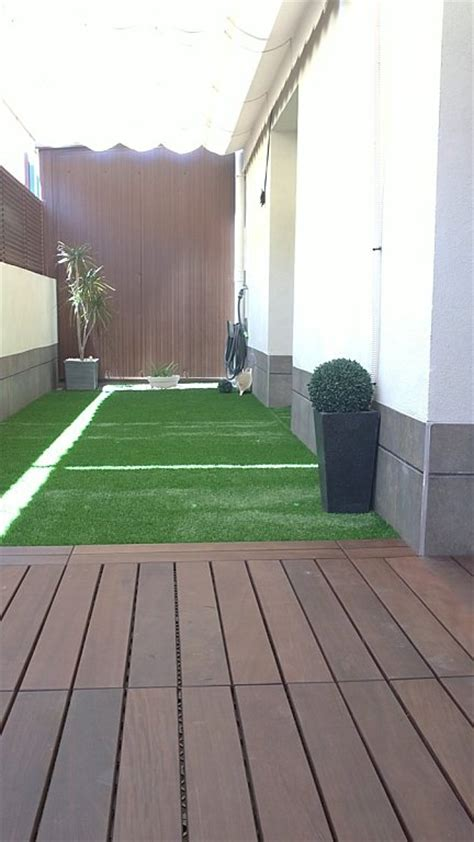 terraza larga estrecha  5  | Decorar tu casa es facilisimo.com