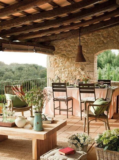 Terrazas rústicas   Decoración de Interiores y Exteriores ...