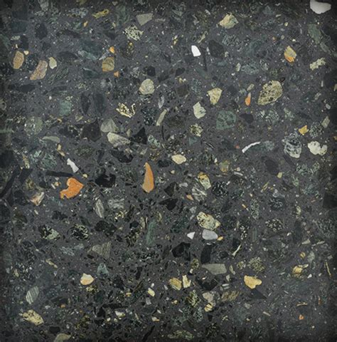 Terrazo grano medio verde   Terrazo interior   Terrazos Fuster