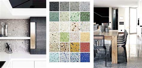 Terrazo para revestir suelos, paredes y mobiliario en tu ...