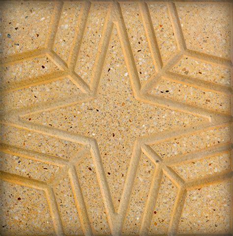 Terrazo relieve pulido estrella para exterior   Terrazos ...