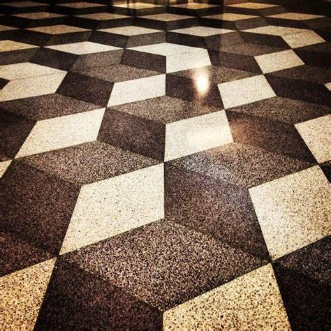 terrazzo floor | geometric inspiration | Pinterest
