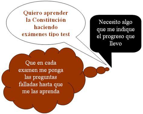 Test constitución española 1978 | Para aprenderse la ...