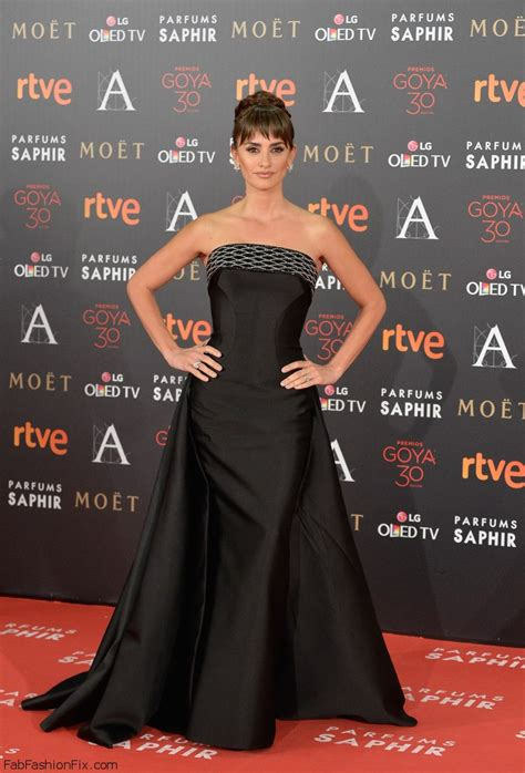The 2016 Goya Awards   Fab Fashion Fix
