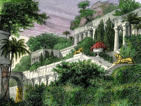 The biggest wonder about the Hanging Gardens of Babylon ...
