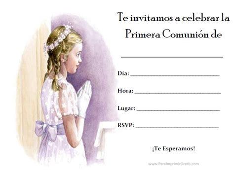 The gallery for   > Primera Comunion Invitaciones Para ...