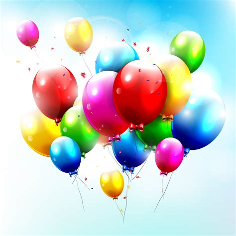 The gallery for   > Real Birthday Balloons Background