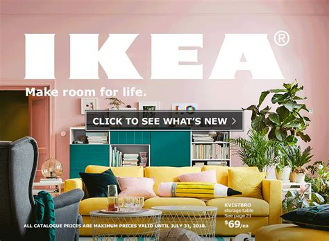 The IKEA Catalogue 2018 – Make room for life   IKEA