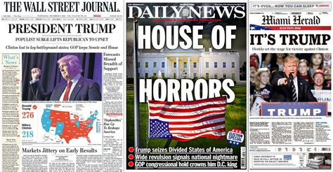 The Morning After: Newspaper Covers From Around The ...