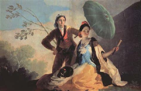 The Parasol Francisco Goya Wholesale Oil Painting China ...