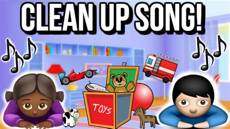 The Put Your Toys Away Song!   Fun Clean Up Song For Kids ...