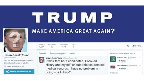 This Twitter bot is making Donald Trump's tweets sensible ...