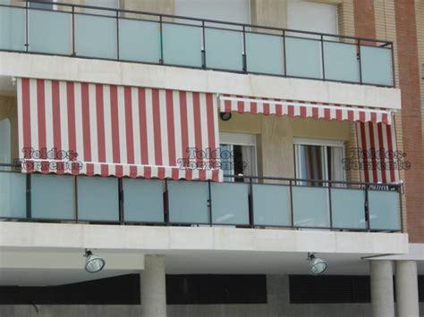 Toldos para balcones de telón