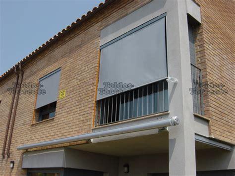 Toldos para balcones verticales screen guiados