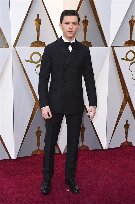 Tom Holland en la alfombra roja de los Oscar 2018 ...