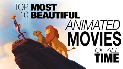 Top 10 Most Beautiful Animated Movies of All Time   YouTube