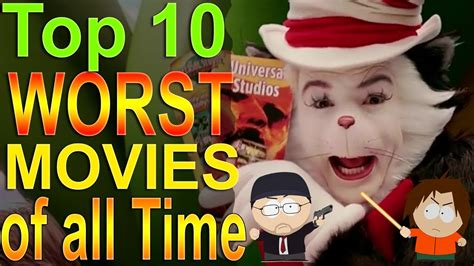 Top 10 Worst Movies of all Time   YouTube