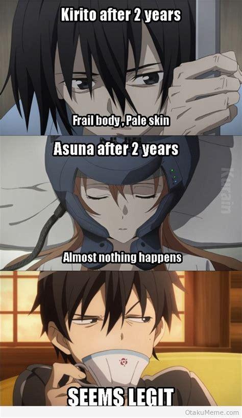 Top 15 Funny Sword Art Online Memes   MyAnimeList.net