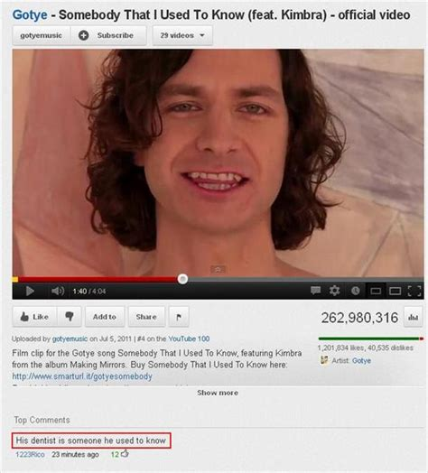 Top 25 Funny YouTube Comments